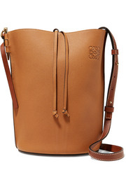 Loewe Gate textured-leather bucket bag