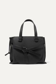 로에베 LOEWE Gate small textured-leather shoulder bag