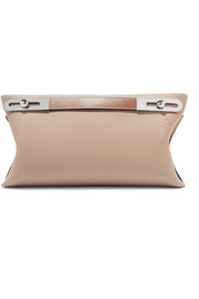 Missy small textured-leather shoulder bag