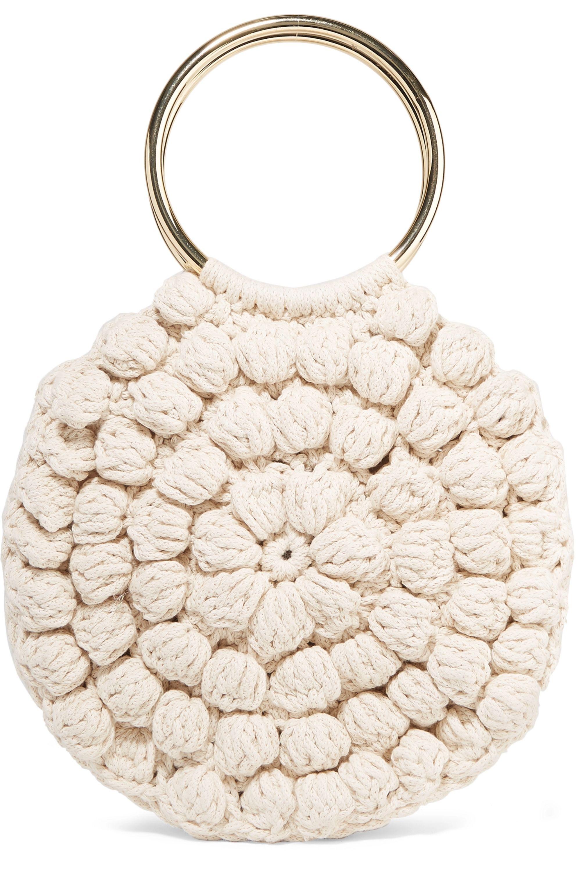 Ulla Johnson Lia crocheted cotton tote