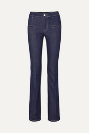 Serge mid-rise flared jeans