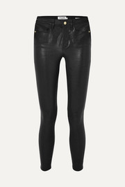 Le High Skinny leather pants