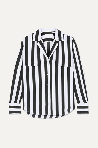 fba85c0c051 Striped washed-silk shirt.  270. Play. Zoom In