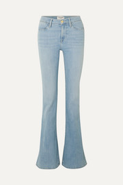 FRAME Le High Flare mid-rise flared jeans