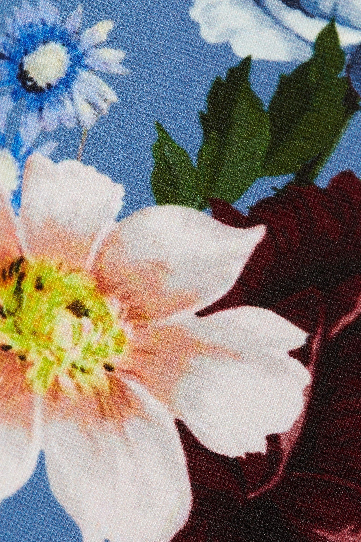 Erdem Reese floral-print stretch-jersey mini dress