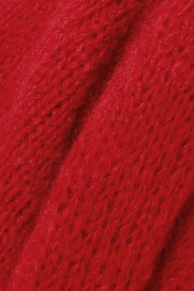 The Knitter. The Bubblegum oversized wool and mohair-blend sweater.   1 f64d875bb