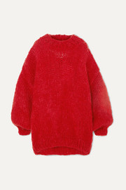 The Bubblegum oversized wool and mohair-blend sweater