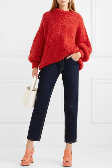 The Bubblegum oversized wool and mohair-blend sweater 25e269382