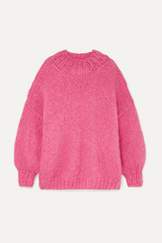 The Bubblegum mohair-blend sweater