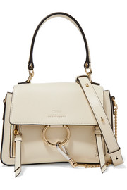 Chloé Faye Day mini textured-leather shoulder bag