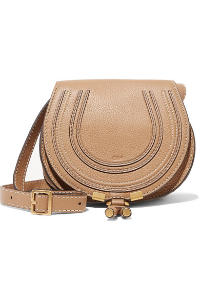 db887560 Marcie mini textured-leather shoulder bag