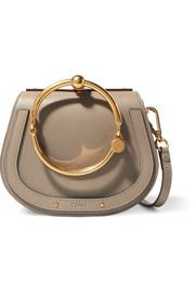 Sac porté épaule en cuir texturé et en daim Nile Bracelet Small c344c8e6f75