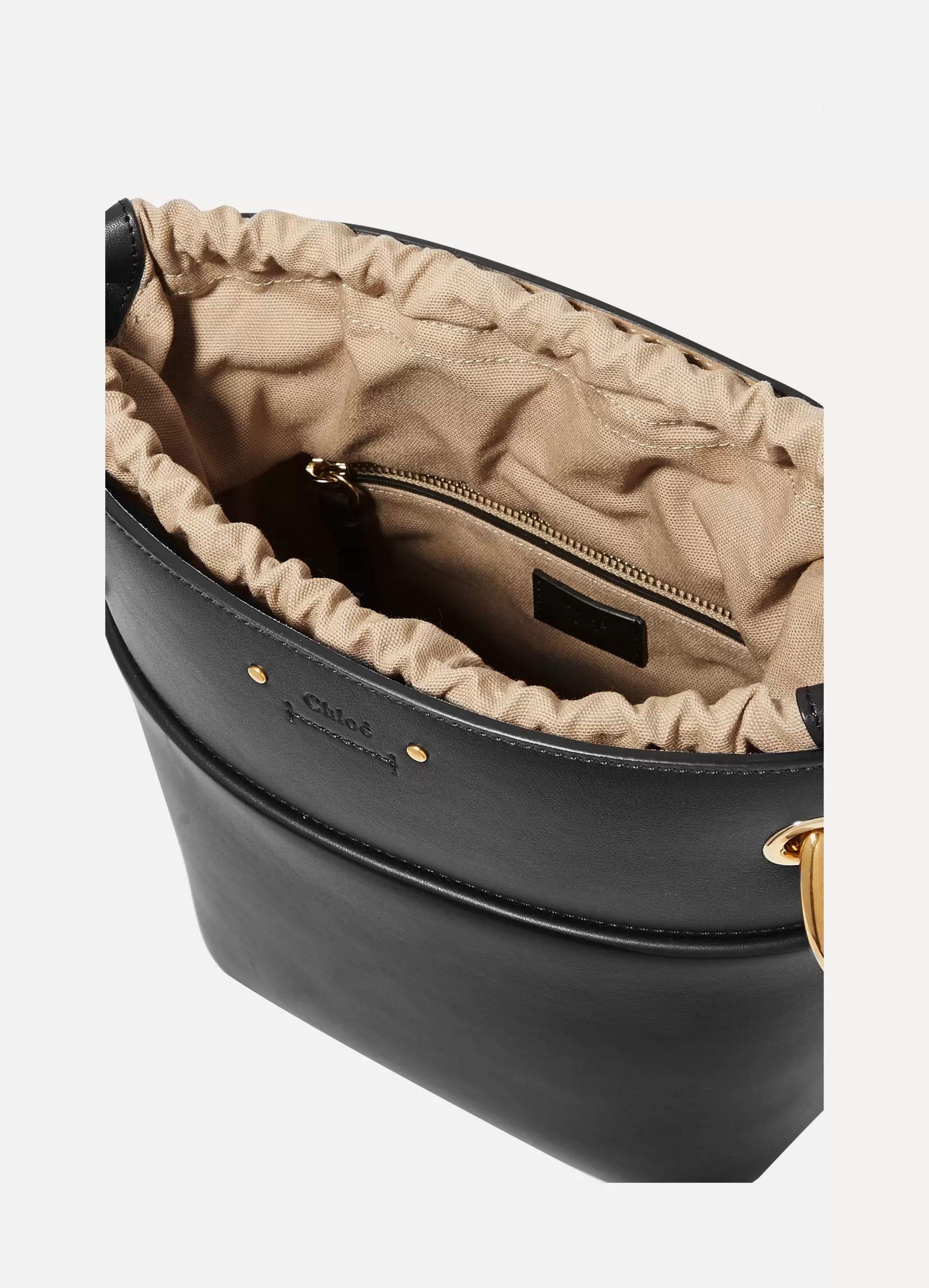 Chloé Roy small leather bucket bag