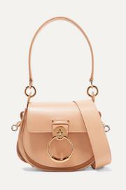 끌로에 가방 Chloe Tess small leather and suede shoulder bag