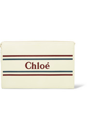 Chloé Vick printed leather pouch