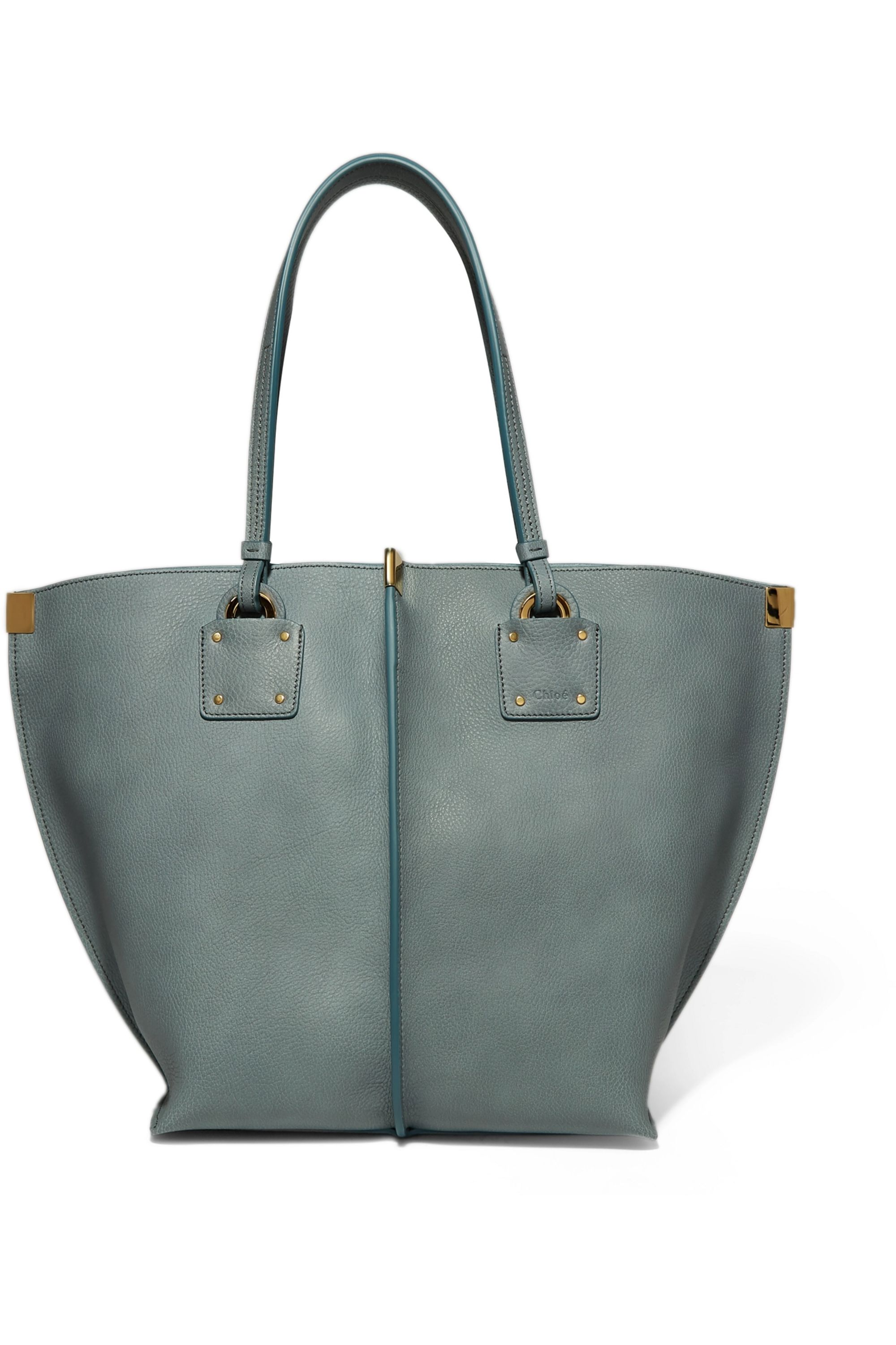 Chloé Vick textured-leather tote