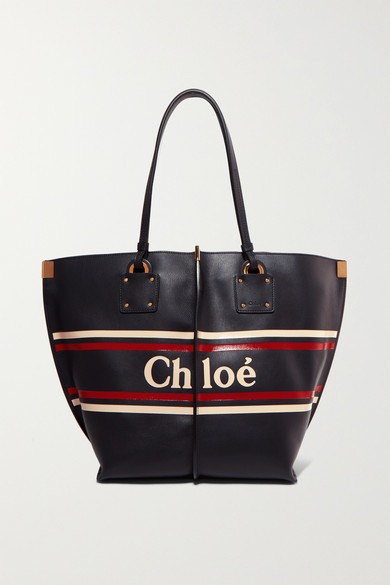 Chloé - Vick printed leather tote