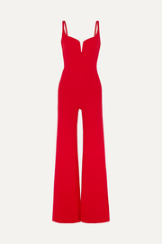 Signature crepe jumpsuit