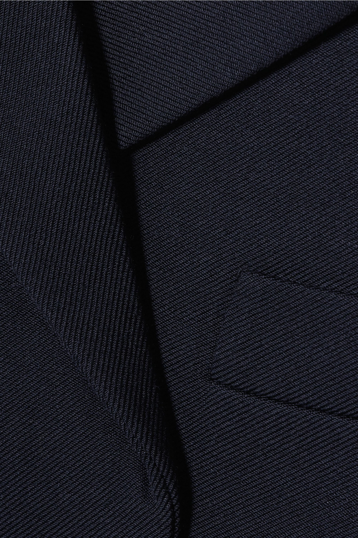 Chloé Oversized asymmetric wool-blend twill blazer