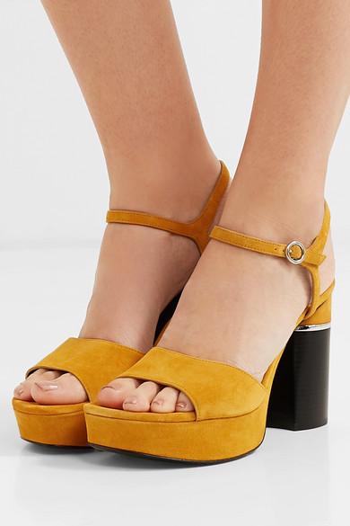 ac0e2df17d4 3.1 Phillip Lim | Ziggy suede platform sandals | NET-A-PORTER.COM
