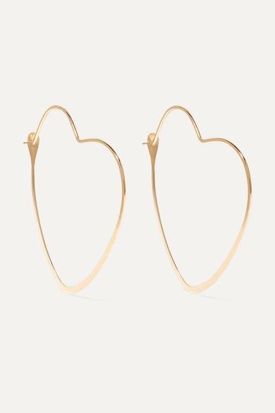Melissa Joy Manning 14 Karat Gold Hoop Earrings Modesens