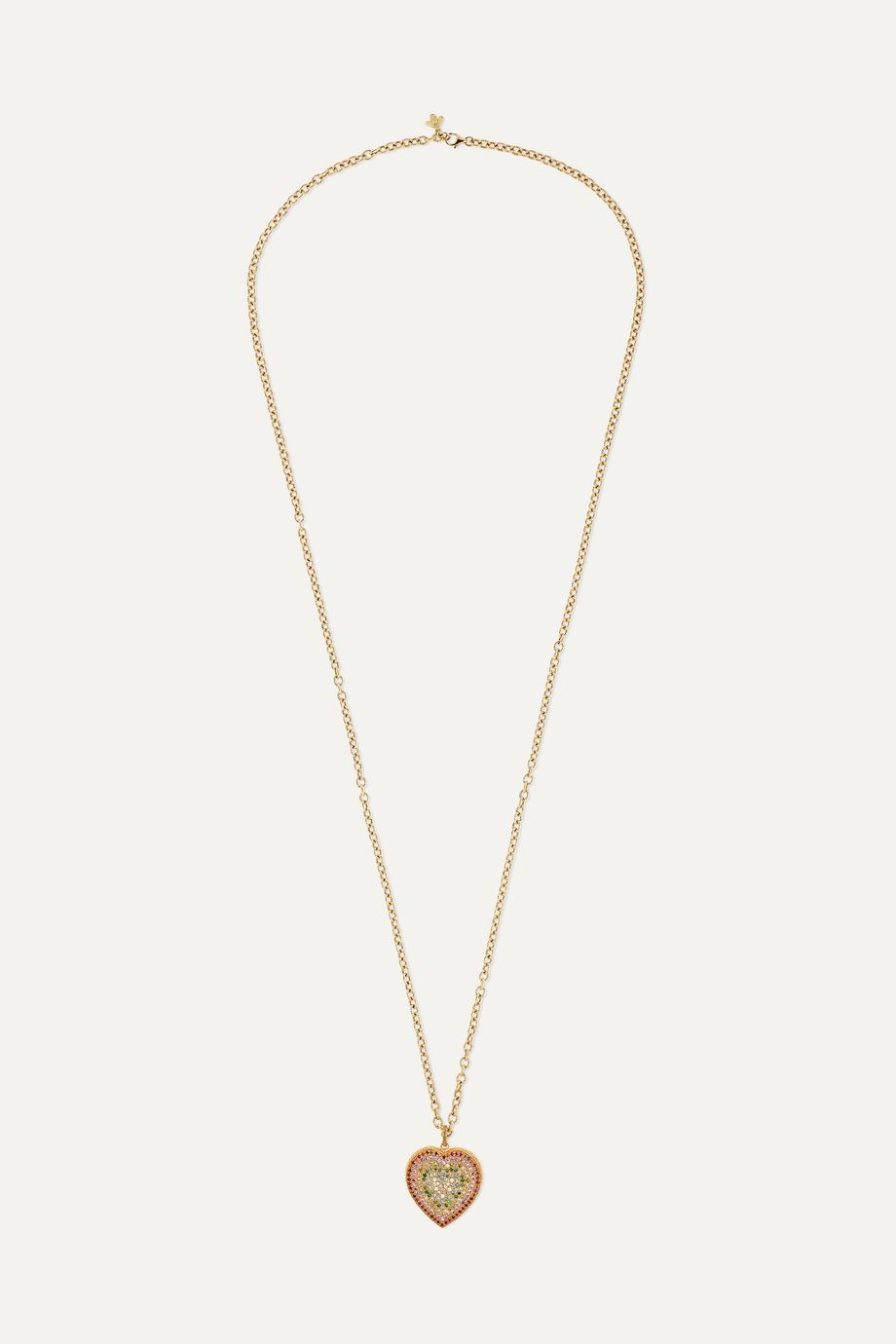 Carolina Bucci Collier en or 18 carats et pierres multiples