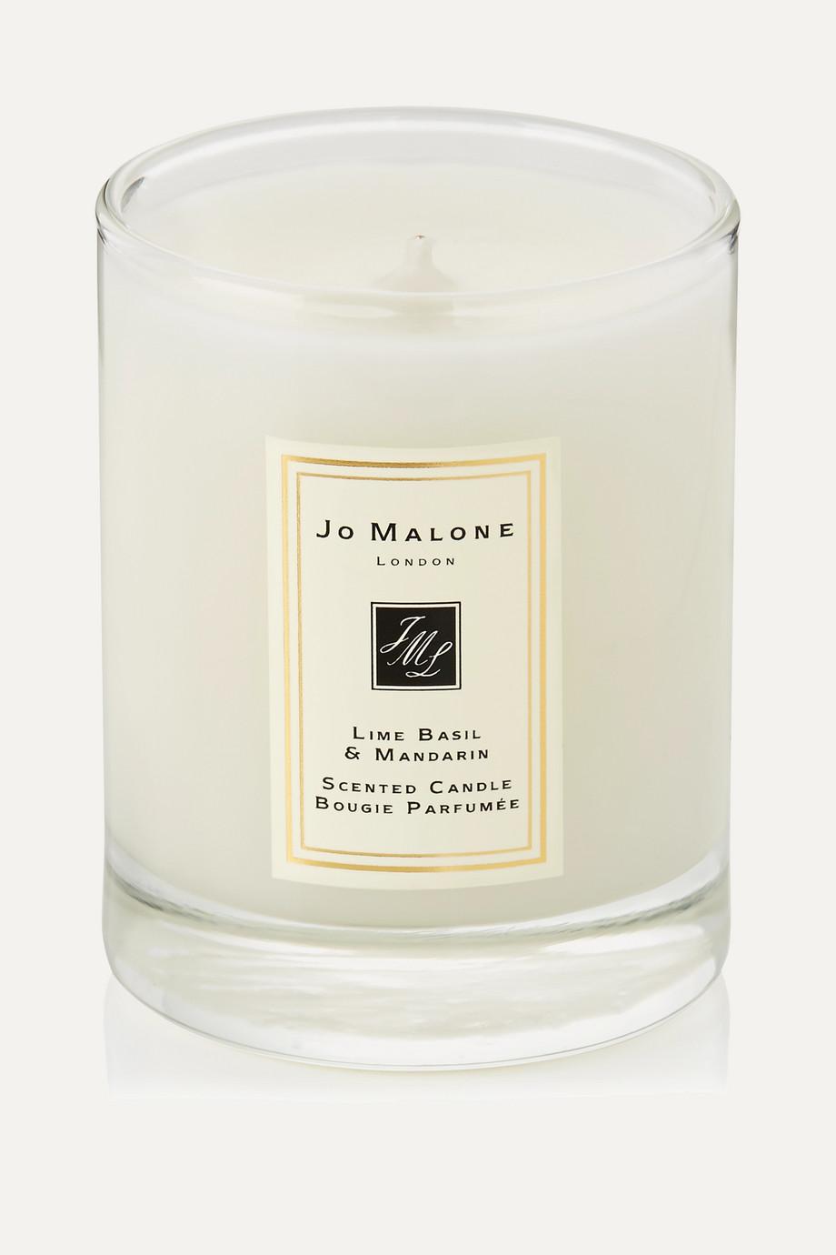 Jo Malone London Lime Basil & Mandarin Scented Travel Candle, 60g