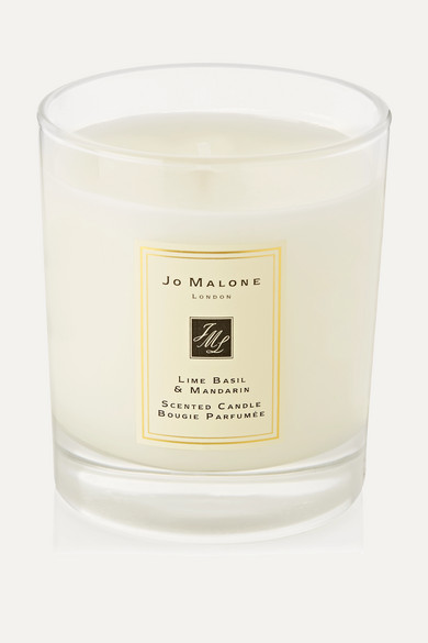 JO MALONE LONDON Lime Basil & Mandarin Scented Home Candle, 200G in Colorless