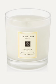 Lavender & Lovage Scented Home Candle, 200g