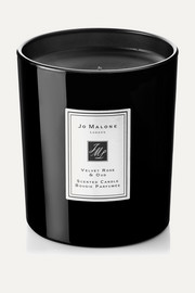 Velvet Rose & Oud Scented Home Candle, 200g
