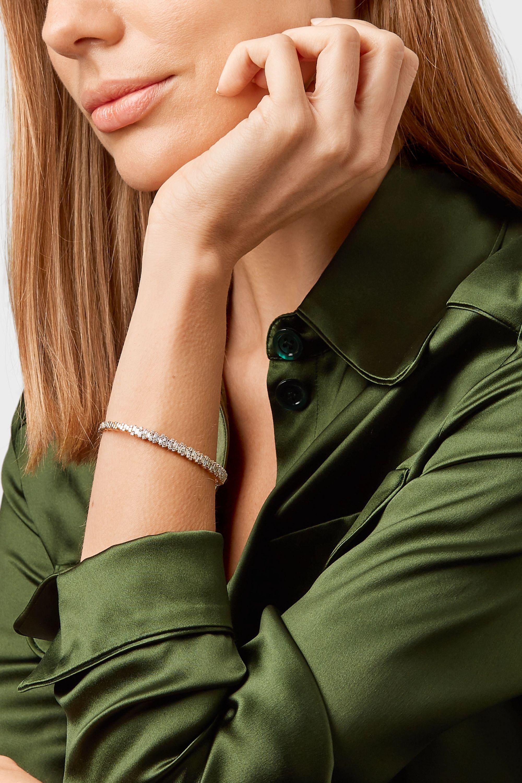 Suzanne Kalan Armspange aus 18Karat Gold mit Diamanten