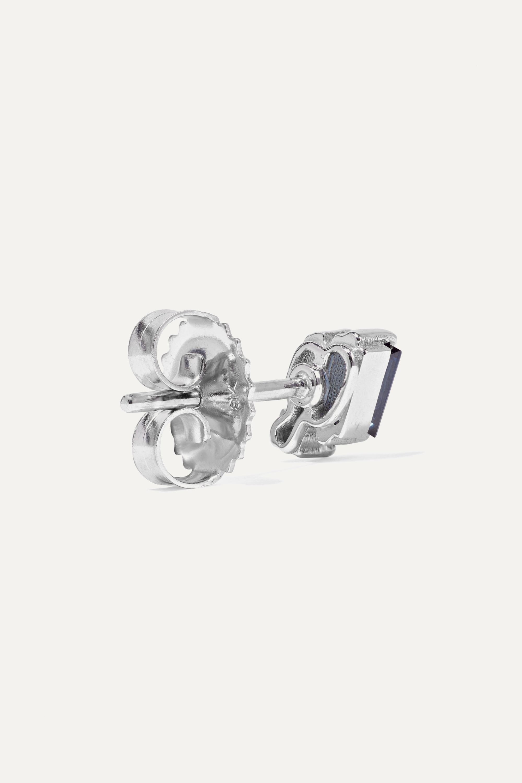 White Gold 18-karat Gold, Sapphire And Diamond Earrings | Suzanne Kalan