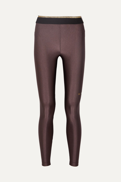 450735a2b1809 Koral | Sonar metallic stretch leggings | NET-A-PORTER.COM