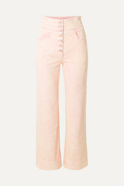 Ellis high-rise straight-leg jeans
