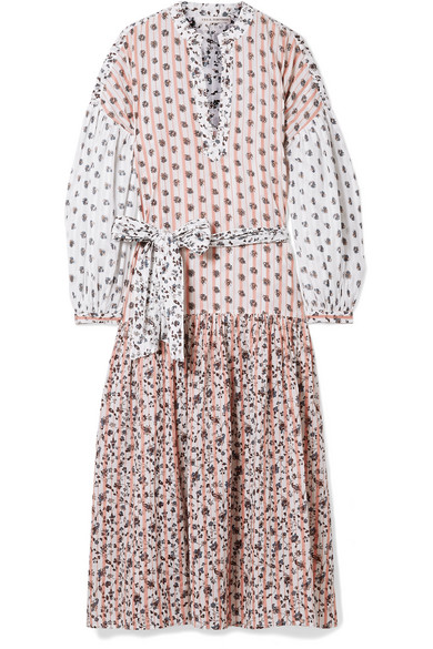 c0dd146831f89 Ulla Johnson | Selvi printed cotton-gauze midi dress | NET-A-PORTER.COM