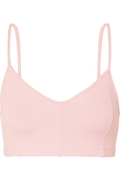 79a6b15374fc7 Live The Process | Corset stretch-Supplex sports bra | NET-A-PORTER.COM