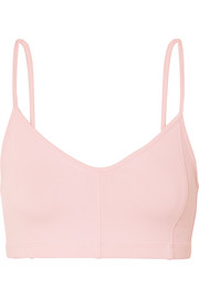 Live The Process Corset stretch-Supplex sports bra