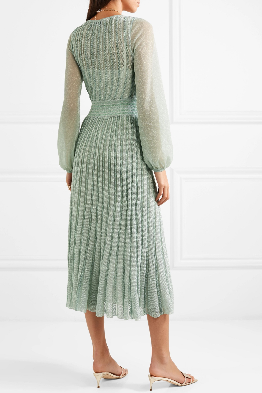 Missoni Metallic Lurex midi dress