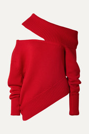 Monse Oversized cutout wool sweater