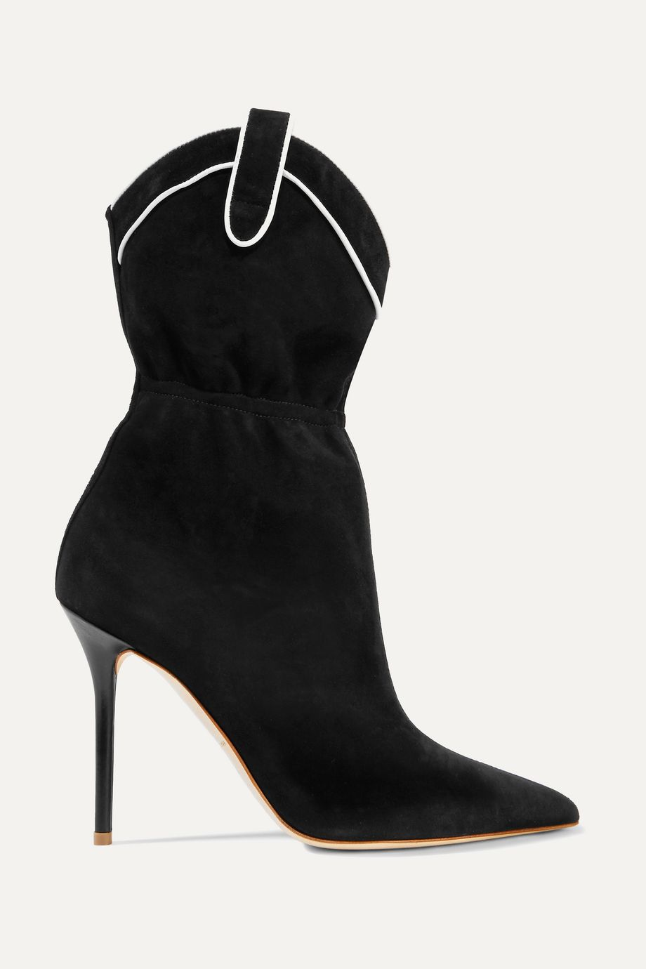 Malone Souliers Daisy 100 suede ankle boots