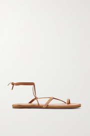 Jo suede and leather sandals