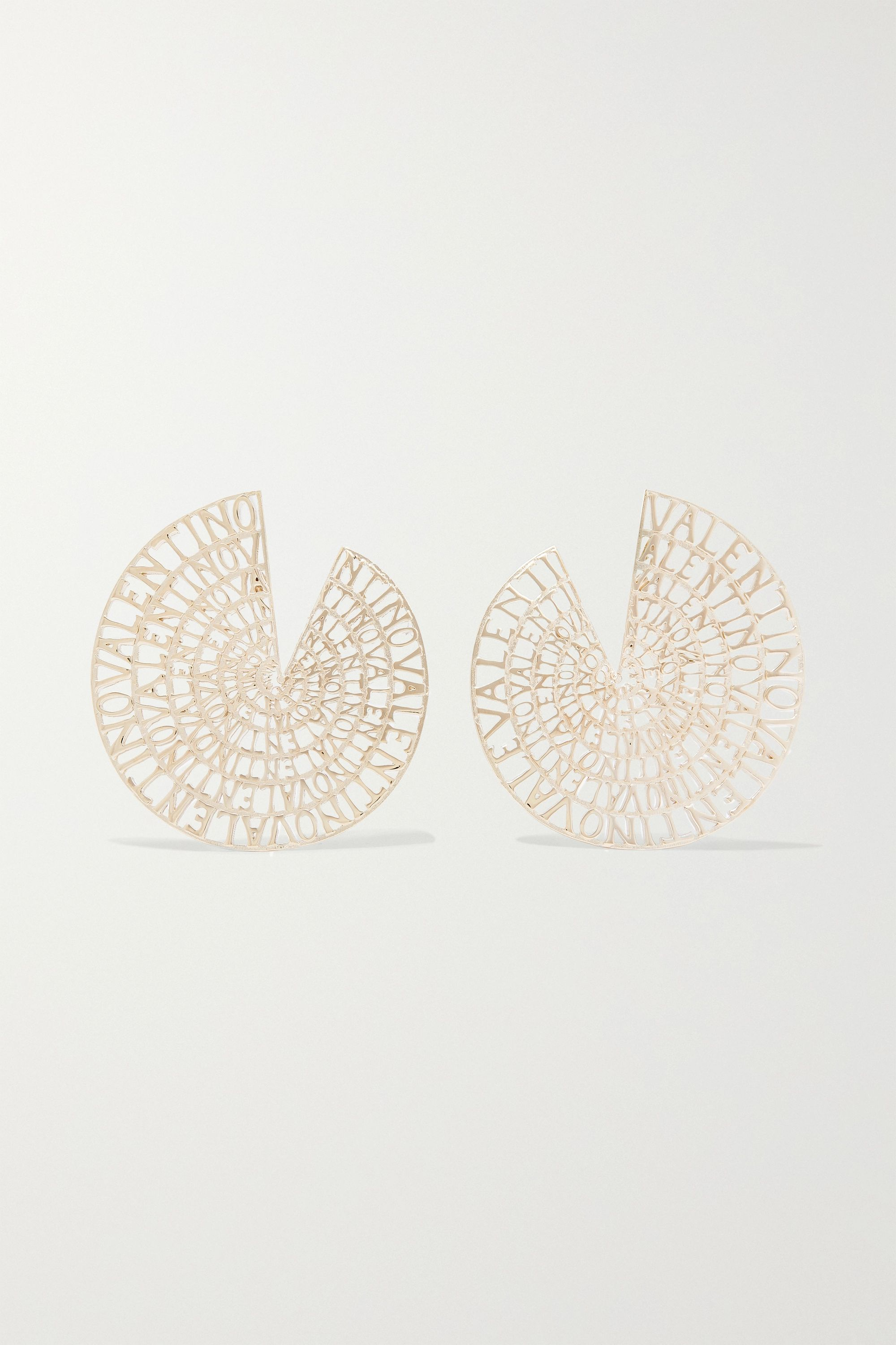Valentino Valentino Garavani gold-tone earrings