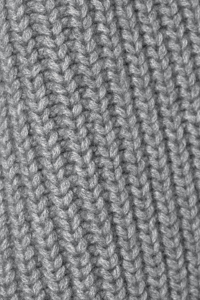 Alexander Wang Dress Cable-knit wool-blend mini dress