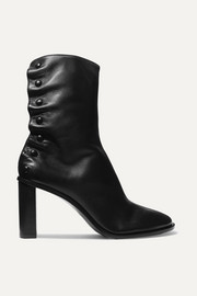 Tea Time leather ankle boots