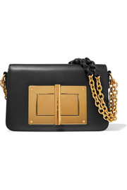 Natalia large leather shoulder bag