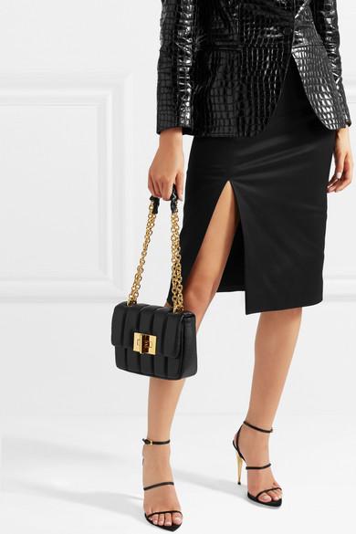 38d3954dc TOM FORD | Natalia large quilted leather shoulder bag | NET-A-PORTER.COM