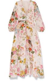 b1204ef4a83b Zimmermann - Heathers floral-print linen maxi dress