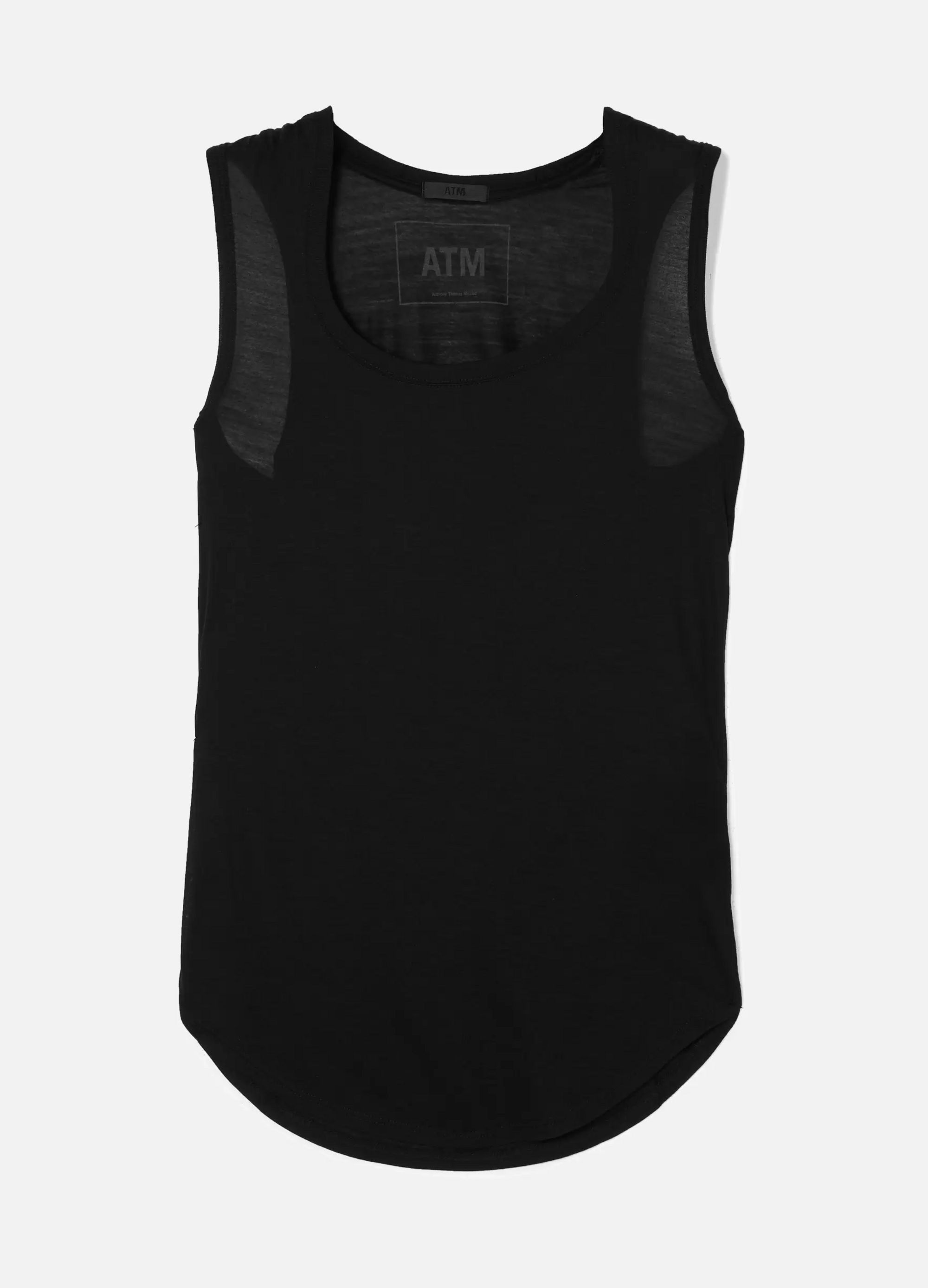 ATM Anthony Thomas Melillo Sweetheart stretch-modal jersey tank