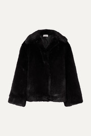 Châtel oversized faux fur jacket