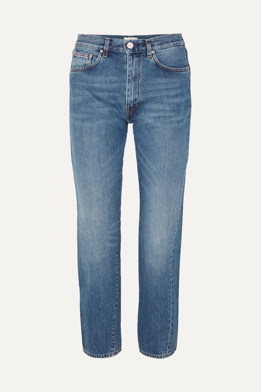 Totême Mid-rise straight-leg jeans